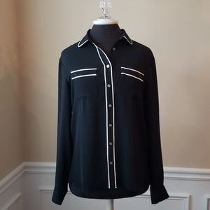Loft Button up Blouse NWT size small